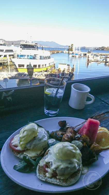 Breakfast at the pier